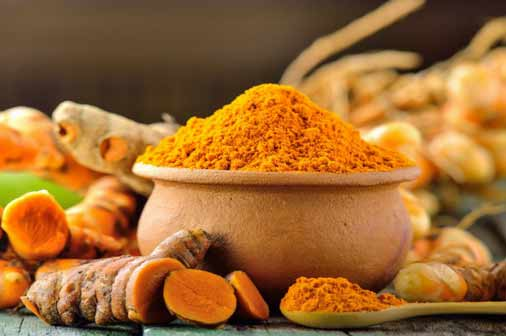 turmeric- How to get rid of acne scars