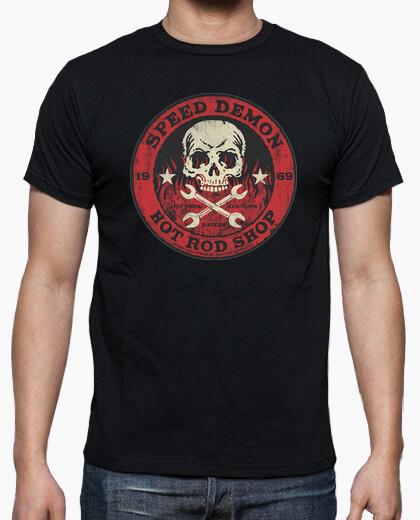 Camisetas Hombre - Diseño Speed Demon