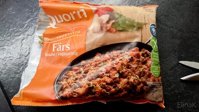 Quorn-ihmettelyä – ja yksinkertainen pastaohje ;)