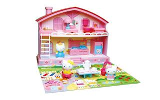 Gambar Rumah Hello Kitty Mainan 4
