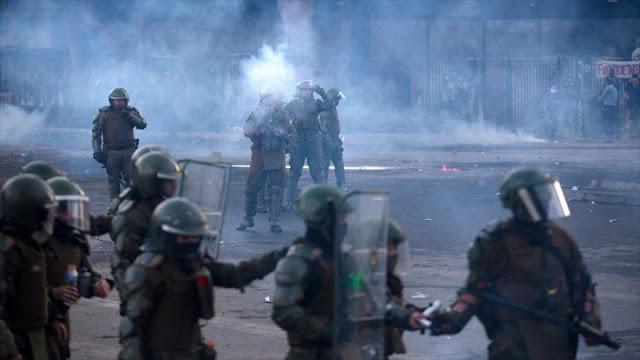 Oposición chilena pide dimisión de autoridades por represiones