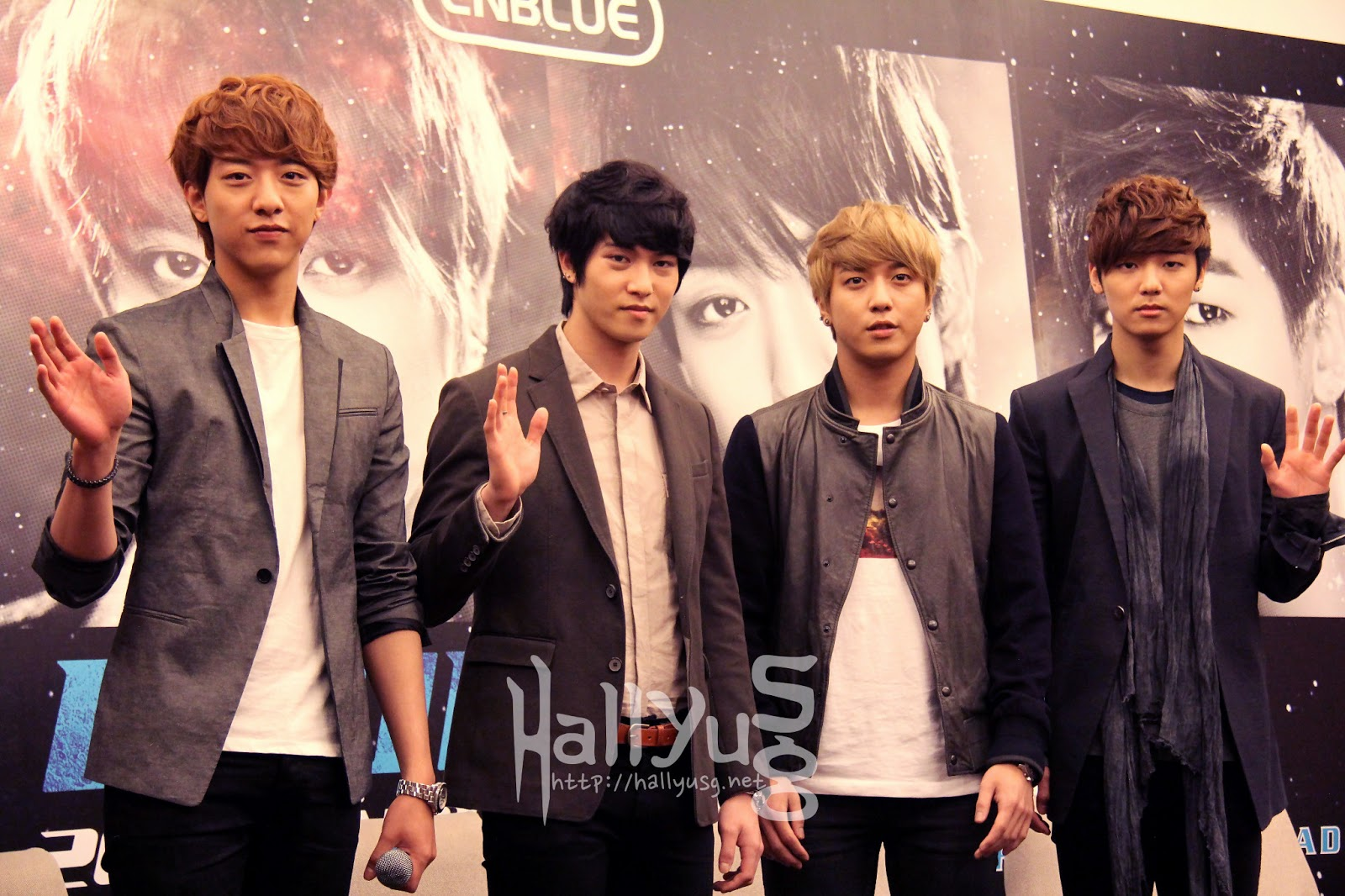 CNBLUE returns to Singapore for their Blue Moon World Tour Concert