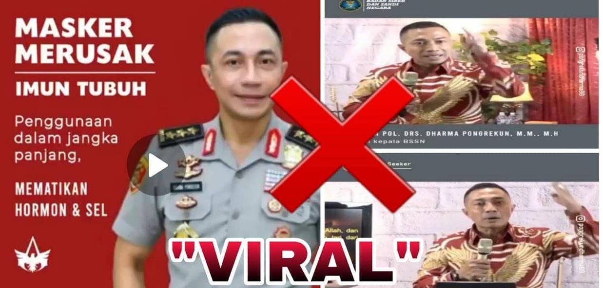 Video Soal Masker Tampilkan Dirinya Jadi Viral, Komjen Dharma Pongrekun Beri Klarifikasi