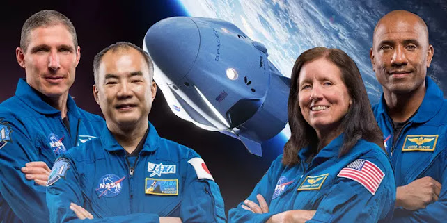 spacex and nasa, crew 1 mission