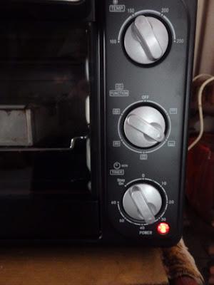 Settingan oven listrik Cosmoven CO-9926 CRG