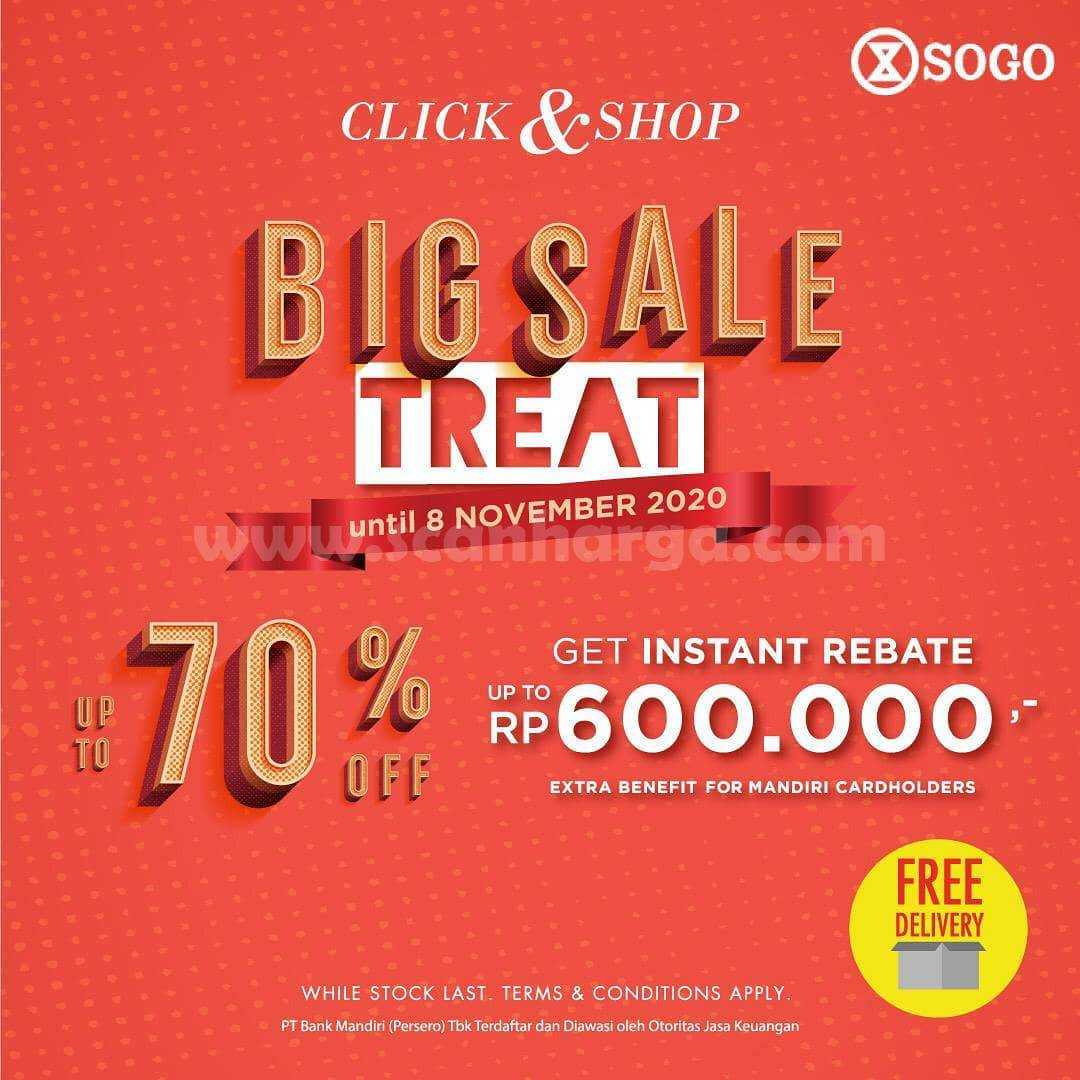 SOGO Promo BIG SALE Treat Disc up to 70% Off
