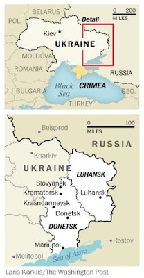 """Ukraine's army said Friday it would not launch an offensive against pro-Russian separatists controlling two regions in the east, as fears grow of a major escalation in the long-running conflict.  The statement came after fighting between the two sides intensified in recent weeks and Russia massed troops on the border.  """"The liberation of the temporarily occupied territories by force will inevitably lead to the death of a large number of civilians and casualties among the military, which is unacceptable for Ukraine,"""" Ruslan Khomchak, chief of the general staff of the Ukrainian Armed Forces, said in a statement on Friday.  He accused Moscow of using """"intimidation and blackmail by military force"""" to exacerbate the situation.  """"Ukraine is supported by the entire civilised world. We are not alone in the face of the enemy,"""" Khomchak added.  Also on Friday, the Turkish foreign ministry said the United States will send two warships through the Bosphorus to the Black Sea, which borders both Russia and Ukraine.  The ships will stay in the region until May 4, the foreign ministry said in a statement, while Turkish media reported that the warships will enter the Black Sea next week.  US Navy ships routinely operate in the region in support of Ukraine."""