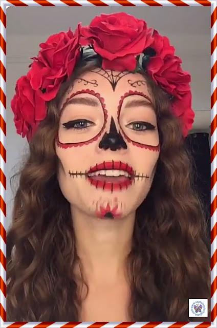 DIY Halloween Makeup Art