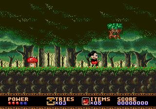 castle of illusion sega megadrive