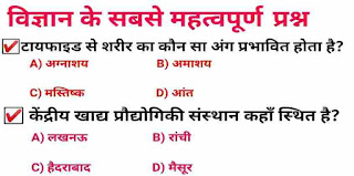 General Science PDF for RRB in Hindi