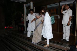 Actress Aishwarya Rai Father Prayer Meet Set 1  0054.JPG