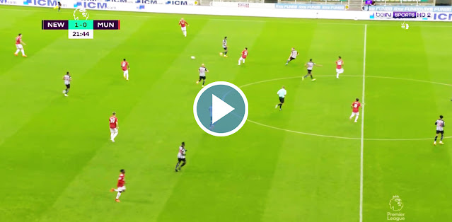 Newcastle United vs Manchester United Live Score