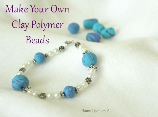 DIY clay beads