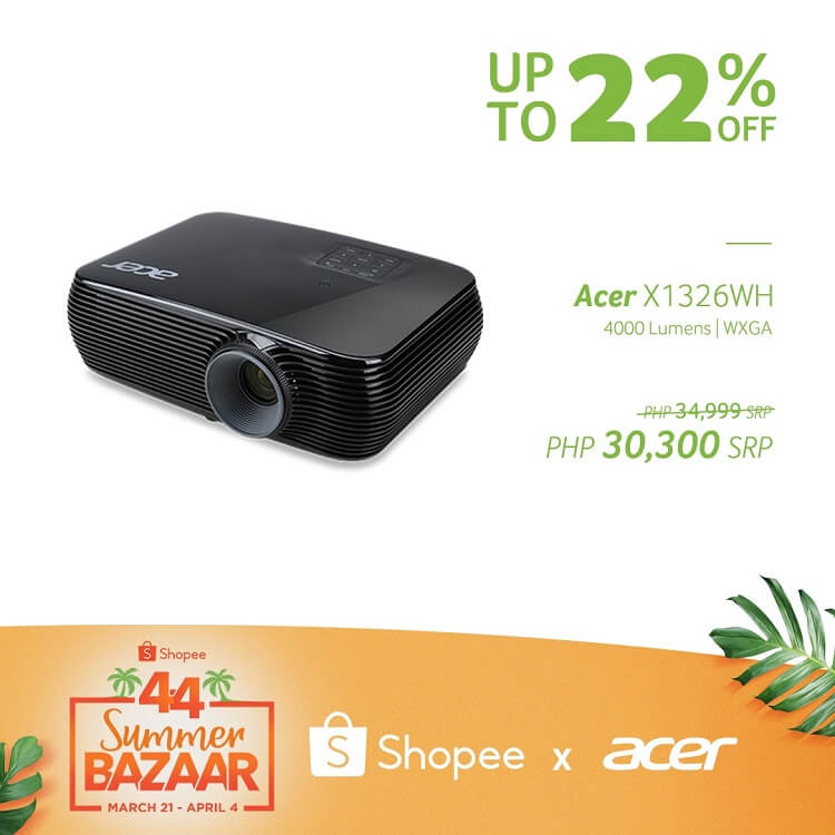 Acer X1326WH Projector