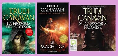 portada de la novela de fantasía La promesa del sucesor, de Trudi Canavan