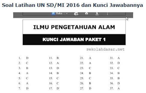 Contoh Soal Ujian Nasional Sma 2016 Beserta Kunci Jawabannya Soal Un 2016