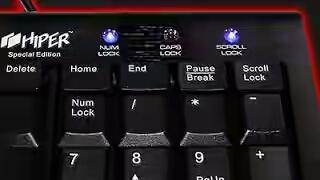 Dance your keyboard light(funny tricks)