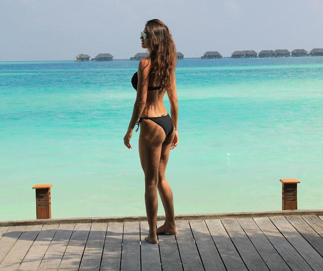 Disha Patani sizzles in black bikini
