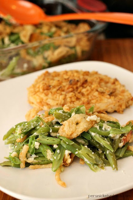 Green Bean Casserole (without the Canned Soup) from Persnickety Palates