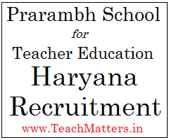 image: Prarambh School for Teacher Recruitment 2020 @ TeachMatters