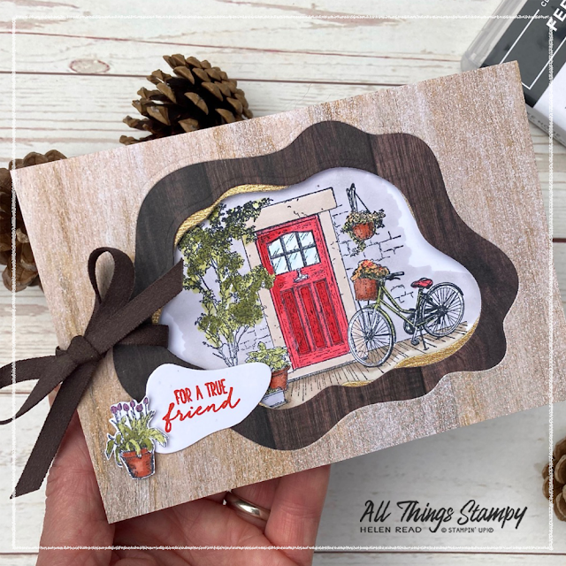 Stampin Up Feels Like Home Sale-a-Bration card idea