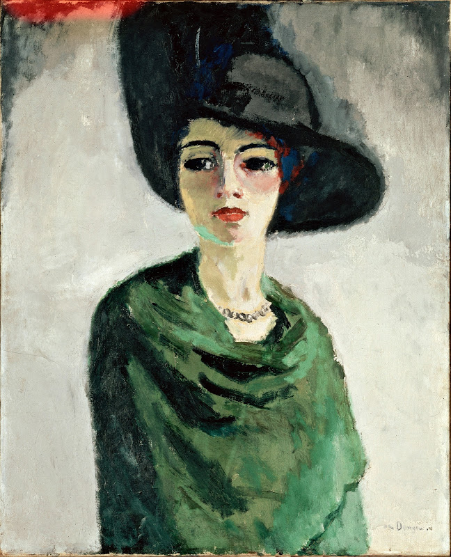 Kees van Dongen - Woman in a Black Hat (1908)
