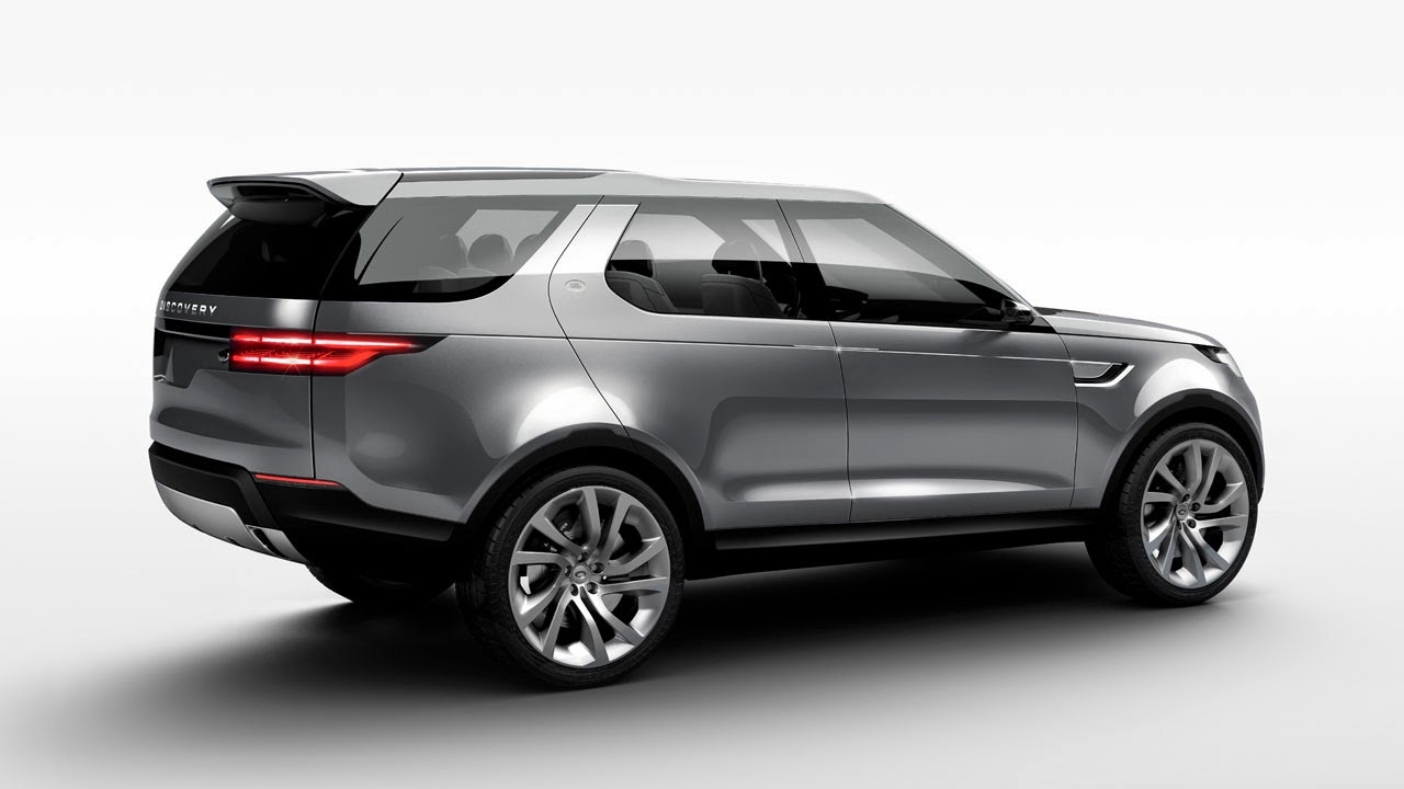 Land Rover Discovery Vision Concept rear side