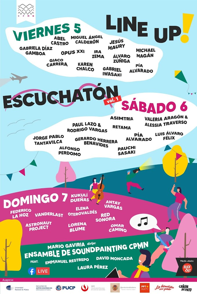 Primera Edición del Festival Virtual Escuchatón