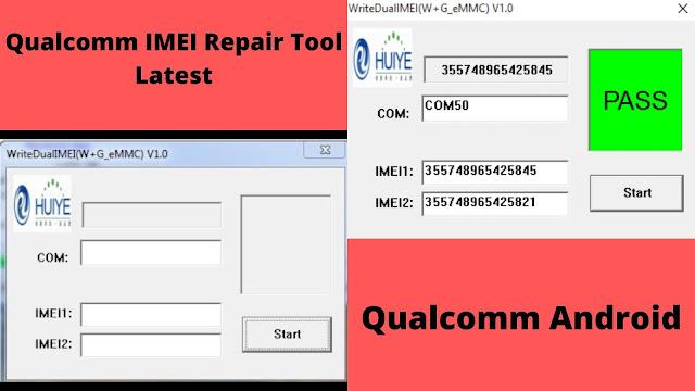 Qualcomm IMEI Repair Tool Latest 2020