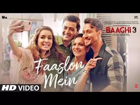 Baaghi 3 Song Faaslon Mein Lyrics