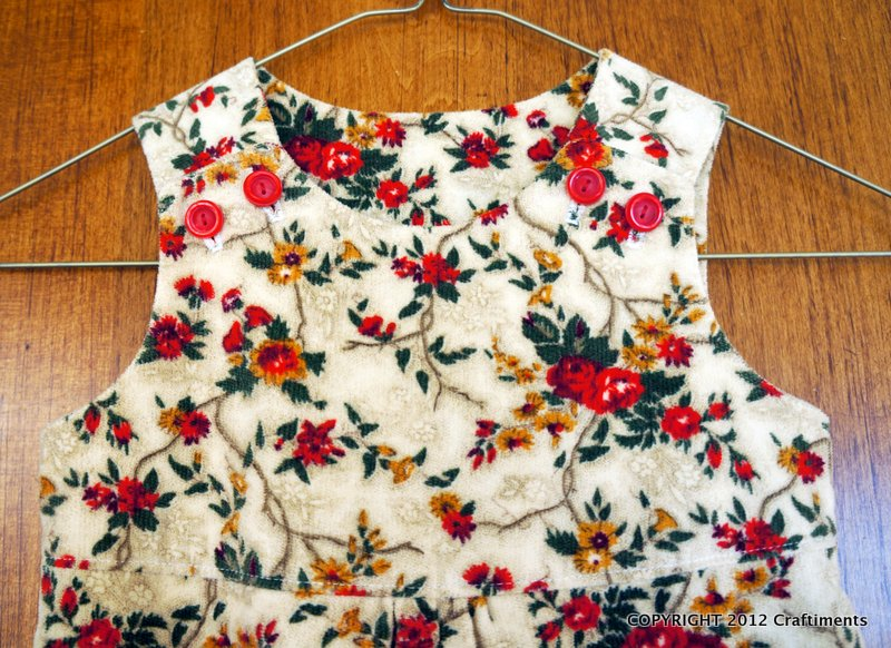 Craftiments:  Thanksgiving overalls bodice