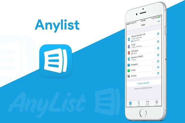 Anylist - Δημιουργήστε λίστες για ψώνια και συνταγές