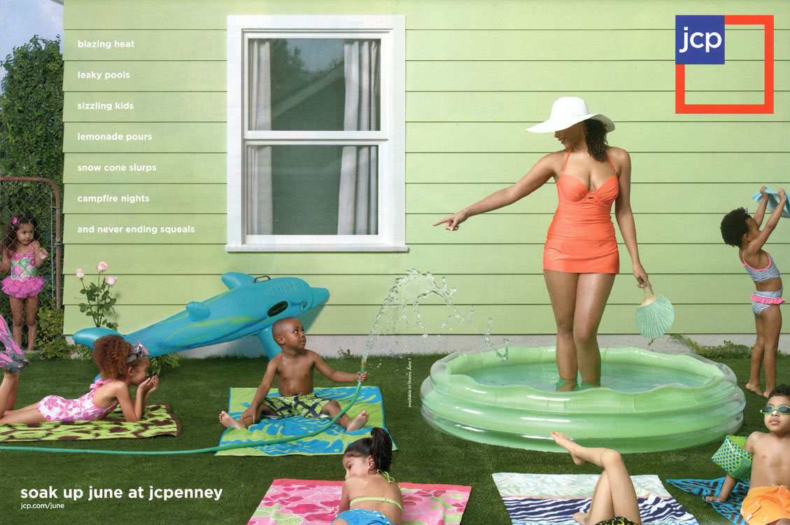 Kd Kids In Jcpenney Summer Ad