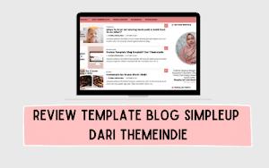 Review Template Blog SimpleUP Dari Themeindie