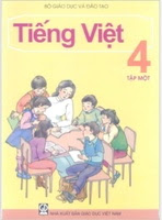 Sách Giáo Khoa Tiếng Việt 4 Tập 1