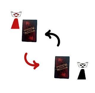 Cambiar tu carta en tu turno Mascarade el juego de mesa