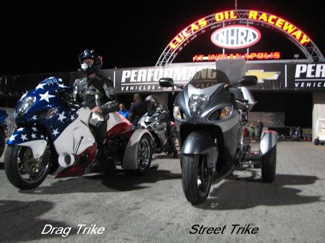 drag trikes lucas oil raceway