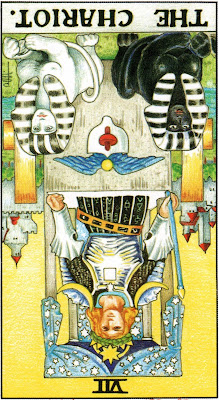 The Chariot Reversed Tarot Card Meaning- Major Arcana