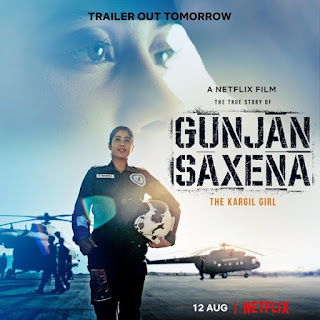 Gunjan Saxena – The Kargil Girl First Look Poster 6