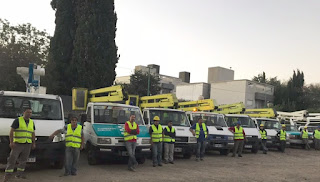 Reacondicionan más de 250 luminarias en un operativo especial