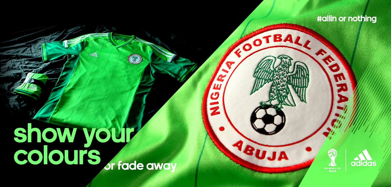 competitive price 35aa9 b42f1 Pro Soccer: adidas Launches New Nigeria National Team Kits