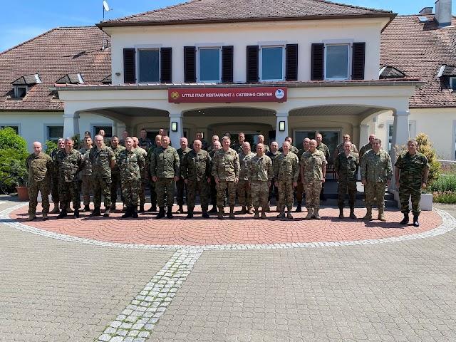 Συμμετοχή Αρχηγού Εθνικής Φρουράς στο 28ο Συνέδριο Ευρωπαϊκών Στρατών (ΦΩΤΟ)