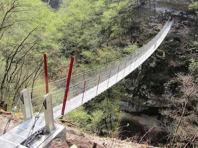Ponte Tibetano della val Sorda - Marano di Valpolicella (Vr)