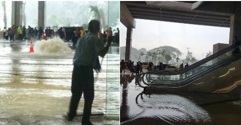 Baru Dibuka, Terminal 3 Ultimate Bandara Soetta Kebanjiran. Pihak Angkasa Pura Pun Meminta Maaf