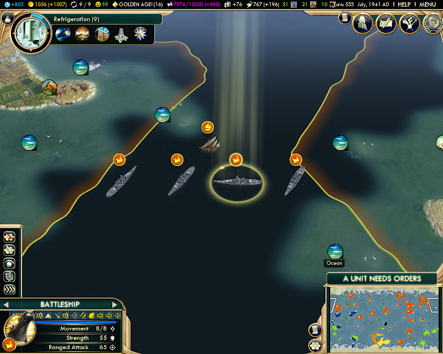Archipelago Map | Civilization 5 BNW Screenshot