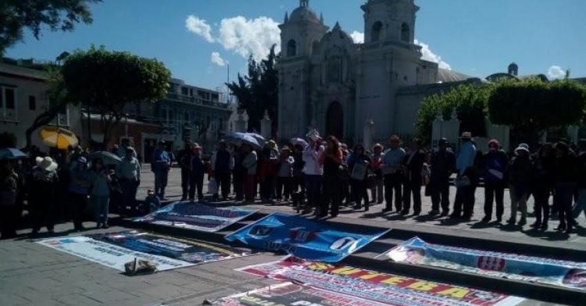 Solo 180 docentes acataron huelga en la GRE Arequipa y ordenan descuento y proceso administrativo