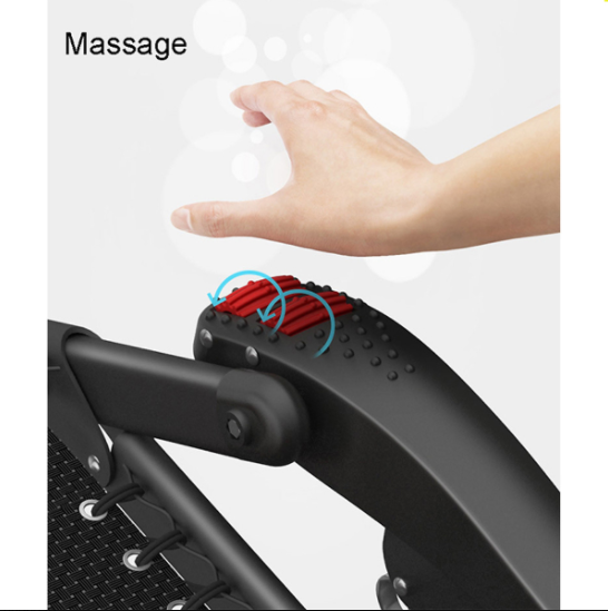 Ghế Xếp Massage Tay Kachi MK234 Khung Thép Cao Cấp Mishio