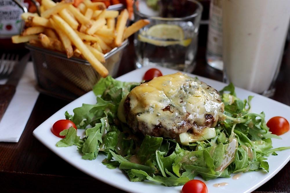 Haché Burger london menu lunch peexo