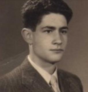 Javier Rodríguez Ibrán en su adolescencia