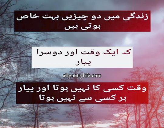 Zindagi Mein Do Cheeze | Sad Poetry in Urdu Life | deep poetry about life in urdu